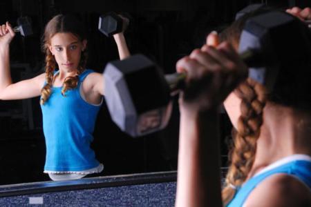 Insatisfacción con el cuerpo, un problema también entre los niños