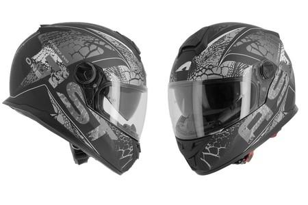Un casco integral, con visor retráctil y deportivo por menos de 130 euros: Astone GT800Evo