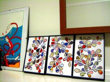 Recicladecoración: arte con folletos publicitarios