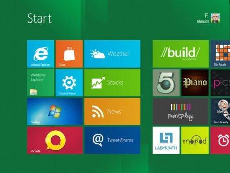 Se filtran algunas características de personalización de Windows 8