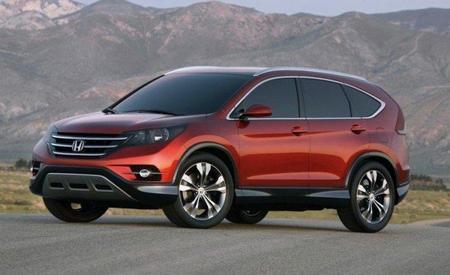 CR-V Concept 2012. Honda presenta el remodelado de su SUV estrella