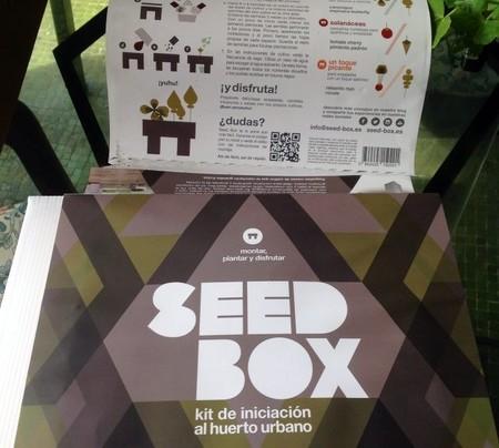 Seed Box, un pequeño huerto ecológico en la cocina