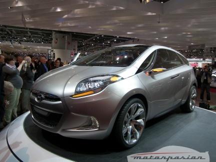 Hyundai en Ginebra: prototipo HED-5 i-Mode y Hyundai i10