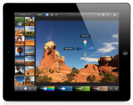 iPhoto llega a iOS