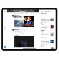 Twitter para iPad prueba un nuevo diseño que (por fin) aprovecha todo el espacio de la pantalla