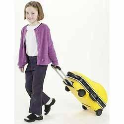 Maleta para niños con forma de coche