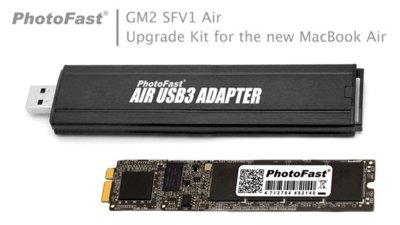 Actualiza la capacidad de disco del nuevo MacBook Air