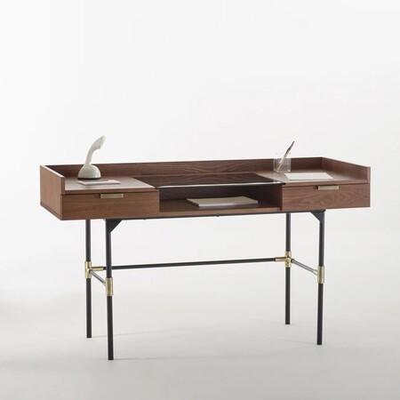 escritorio diseño nogal