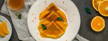 Cómo hacer crêpes suzette al estilo de Dani García, receta con vídeo incluido
