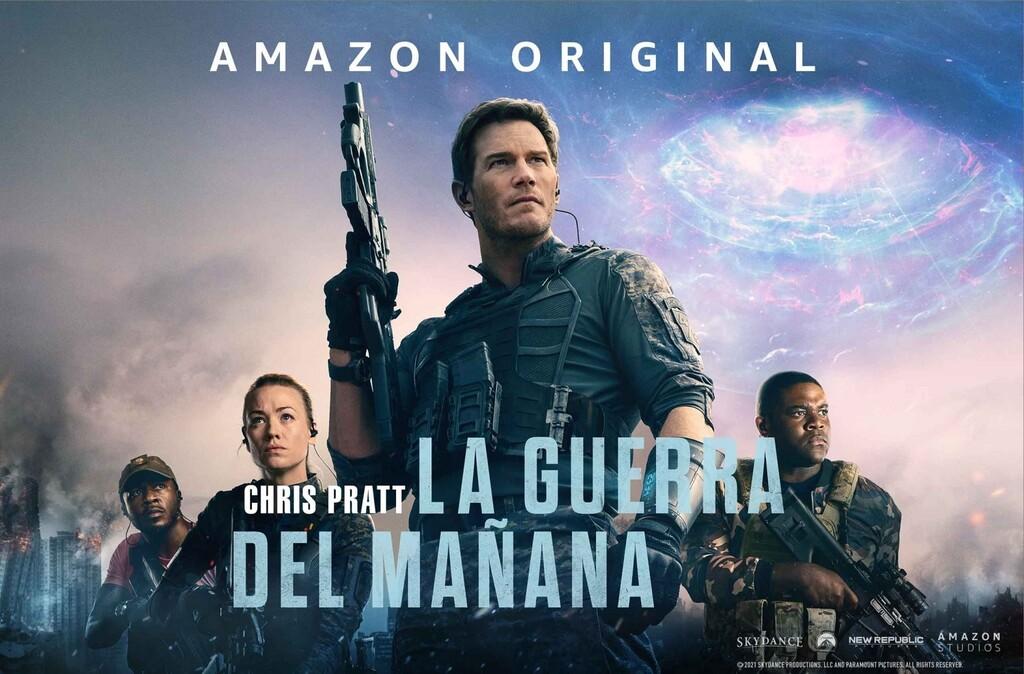 'La guerra del mañana': una entretenida superproducción  de Amazon con viajes en el tiempo que da lo mejor de sí en las feroces escenas de acción