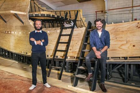 'Sin límites': Rodrigo Santoro y Álvaro Morte serán Magallanes y Elcano en la ambiciosa serie histórica de RTVE y Amazon