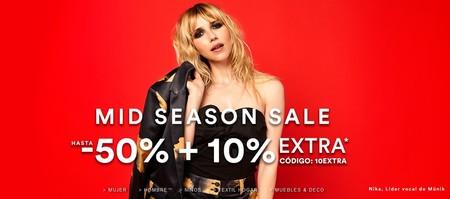 Código de 10% de descuento extra en la Mid Season sale de La Redoute (que ya tenía descuentos del 50%)
