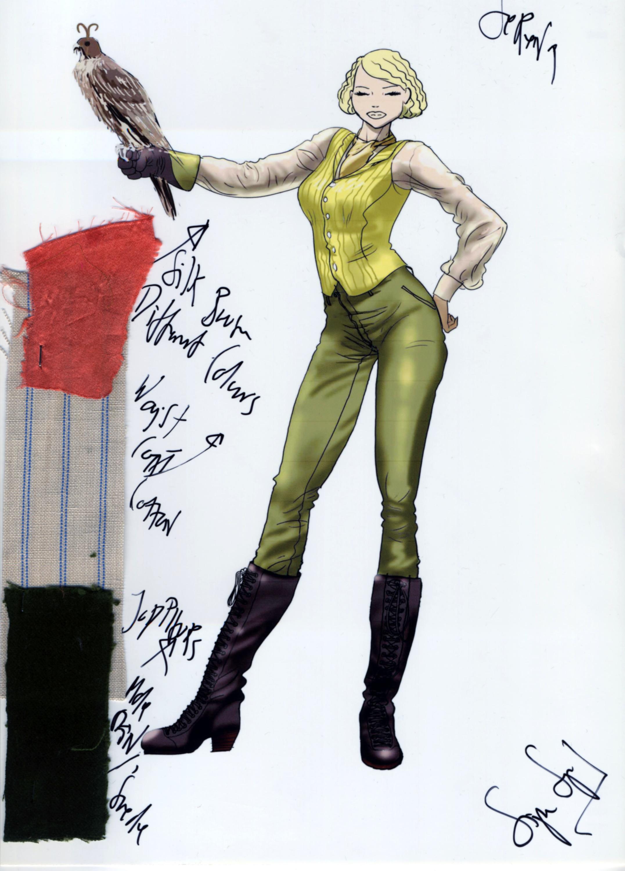 Foto de Jennifer Lawrence nos atrapa con el precioso vestuario de Serena (7/16)