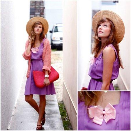 Moda en la calle vestido