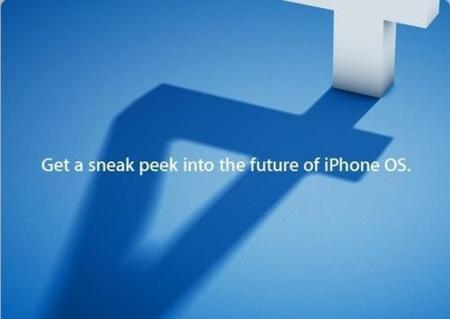 Apple anuncia la presentación del iPhone OS 4.0 el próximo 8 de abril