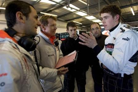 Paul Di Resta suena cada vez más como piloto de Fórmula 1