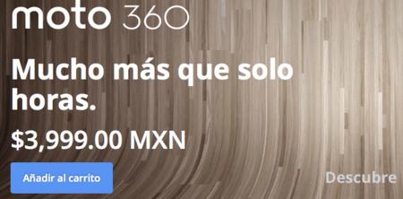 Moto 360, disponible ahora en la página de Motorola