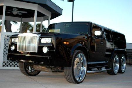 Rolls-Royce Phantom Hummer H2