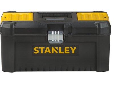 Oferta Flash en Amazon: caja de herramientas  Stanley STST1-75518 de 40cm con cierre de metal por 8,13 euros