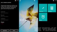 Windows Phone 8 incluirá Kid's Corner, un espacio controlado para los niños