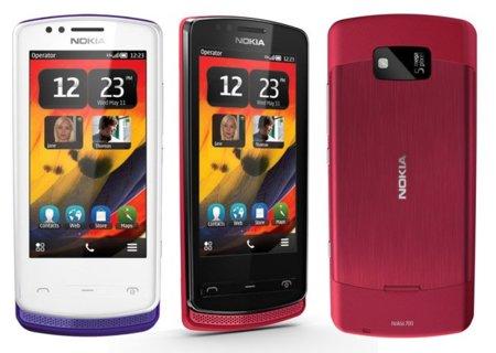 Nokia 700, un smartphone táctil diminuto y ecológico