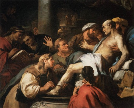 Luca Giordano The Death Of Seneca Wga9021