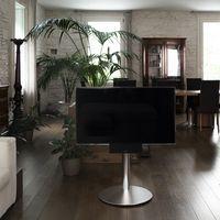 Geneva quiere integrar en un mismo elemento el soporte para la tele y la barra de sonido con subwoofer
