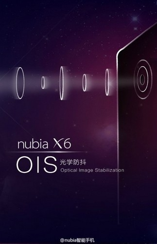 ZTE Nubia X6 montará una cámara con estabilización óptica