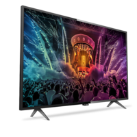 Smart TV Philips 43PUH6101/88, con pantalla 4K de 43 pulgadas, por 379 euros