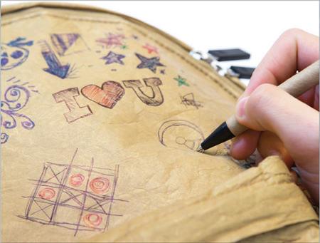 'Doodle' es la mochila sobre la que no te importará que tus hijos dibujen