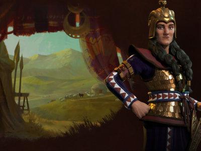La reina de los escitas será implacable en Civilization VI