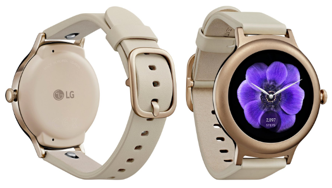 Lg Watch Style In Rose Gold