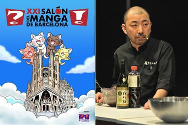 Talleres de gastronomía japonesa y una exposición dedicada al sake en el XXI Salón del Manga