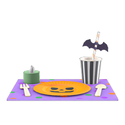 Animal Crossing New Horizons Guide Pumpkins Item Diy Icon Spooky Table Setting