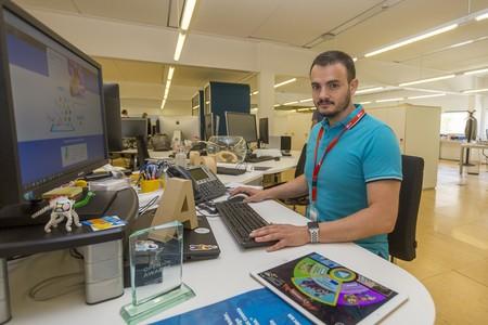 Javier Goimez Coordinador De Tecnologiia De Negocio De Sm