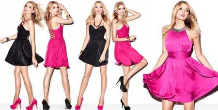 Vestidos de fiesta Navidad 2011/2012: colección H&M by Night (y a descorchar el champán)