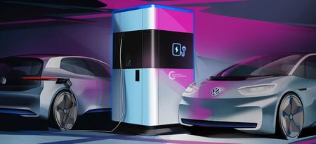Volkswagen desarrolla un sistema de carga móvil para autos eléctricos