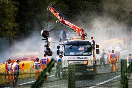 Hubert Crash Spa F2 2019