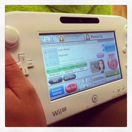 Pantalla Wii Karaoke U