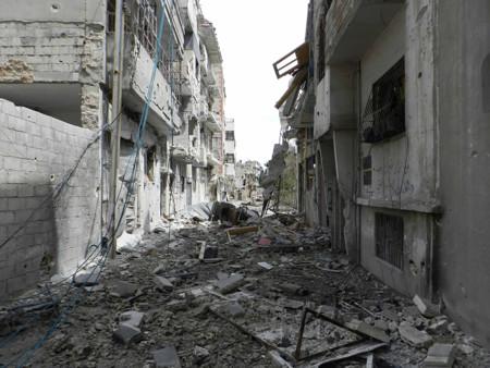 Homs Destruida