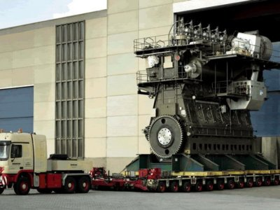 Así es el motor diésel más potente del mundo (+vídeo)