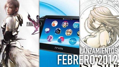 Guía de lanzamientos: febrero de 2012