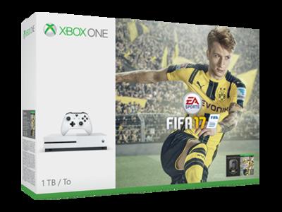 El pack futbolero definitivo: la nueva Xbox One S de 500 GB con FIFA 17 por 299,99 euros