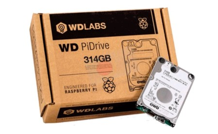 WD PiDrive de 314GB disponible en RaspiPC.es
