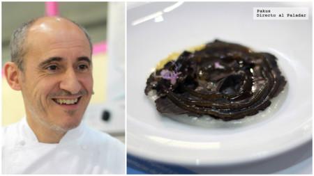 El chef Paco Pérez nos enseña hasta donde puede llegarse cocinando con productos lácteos