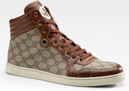 Lo nuevo de Gucci: High Top Sneaker by Gucci