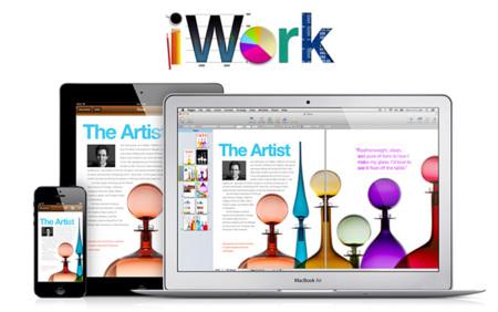 Apple actualiza iWork para Mac OS X e iOS con pequeñas mejoras en Pages, Keynote y Numbers
