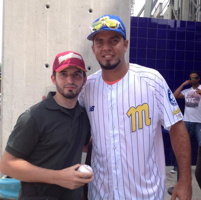 Humberto Gomes Con Yoel Hernandez
