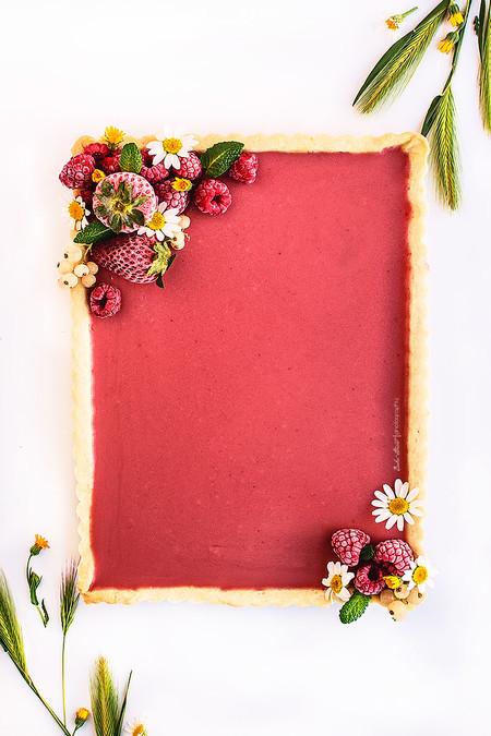 Tarta Fresa Hierbabuena
