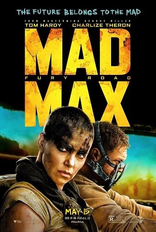 Cartel de 'Mad Max: Furia en la Carretera'